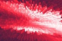 四角柱の集合イメージ CG