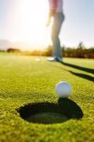 ゴルフのパターショット