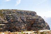 ズッリー自然保護公園の断崖