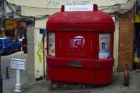 マカオ歴史地区の郵便小屋
