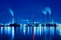 山口県 宇部の工場夜景