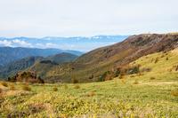 美ヶ原と北アルプス