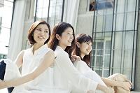 仲良し20代日本人女性