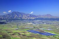 熊本県 阿蘇山と阿蘇盆地