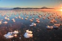 北海道 厳冬の屈斜路湖