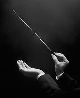 指揮する手