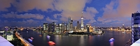 中国 上海の高層ビル群