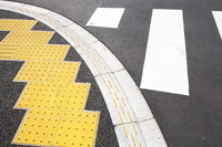 東京都 板橋区 点字ブロック 道路のバリアフリー化