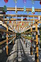 群馬県 宝徳寺 風鈴祭り
