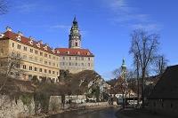 チェコ チェスキークロムロフ城