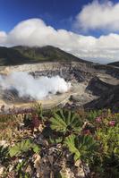 コスタリカ    ポアス火山