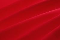 赤いドレープ 布