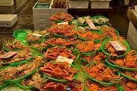 金沢市 近江町市場のカニ