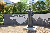 大分市 大手公園 聖フランシスコ・ザビエル像