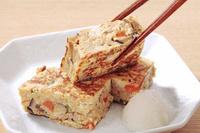 箸でつまんだ擬制豆腐