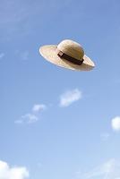 青空と帽子