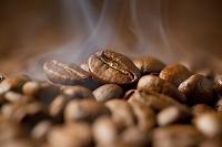 コーヒー豆の焙煎イメージ
