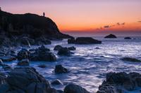 高知県 朝の足摺岬灯台