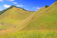 奈良県 初秋の曽爾高原