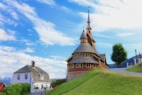 ノルウェー ソグネフィヨルド バレストランド 教会