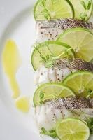 鱈の蒸し料理