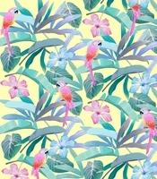 Tropical Garden, 2015 (digital illustration)