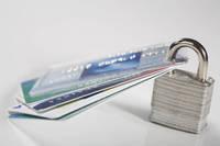 クレジットカードに南京錠