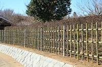 垣根 竹製