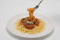 ミートソースのスパゲティー