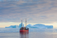 グリーンランド 船