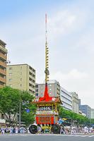 京都府 祇園祭 前祭 山鉾巡行 放下鉾