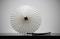 番傘と日本刀