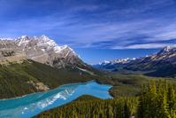 カナダ バンフ国立公園 ペイトー湖