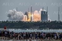 中国、宇宙ステーションのコアモジュール「天和」を打ち上げ