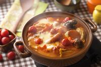 洋風トマトチーズ鍋