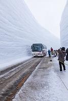 富山県 雪の大谷