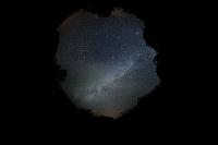 栃木県 日光市 戦場ヶ原 ペルセウス座流星と夏の銀河