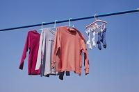 洗濯物を乾かす