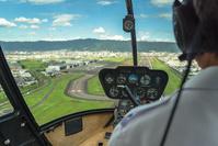 ヘリコプター コックピット