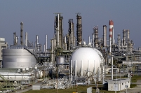 工場 オーストリア OMV石油精製所