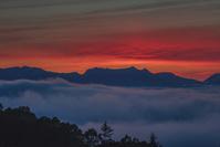美ヶ原高原からの夕焼け