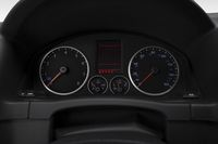 2009 Volkswagen Tiguan SE in Blue - Speedometer/tachometer