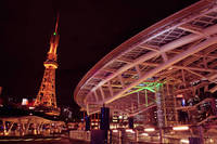 愛知県 オアシス21と名古屋テレビ塔