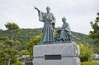 静岡県 吉田松陰と金子重輔の像