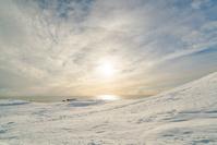 アイスランド 雪景色