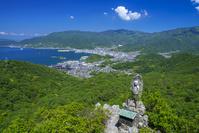 香川県 碁石山よりの展望