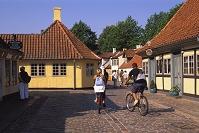 デンマーク アンゼルセンの家と博物館