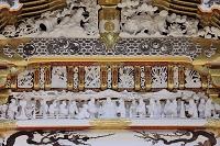 栃木県 日光東照宮 唐門の舜帝朝見の儀の彫刻
