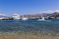 ギリシャ デロス島行きの船着場
