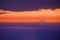 千葉県 富士山 夕景